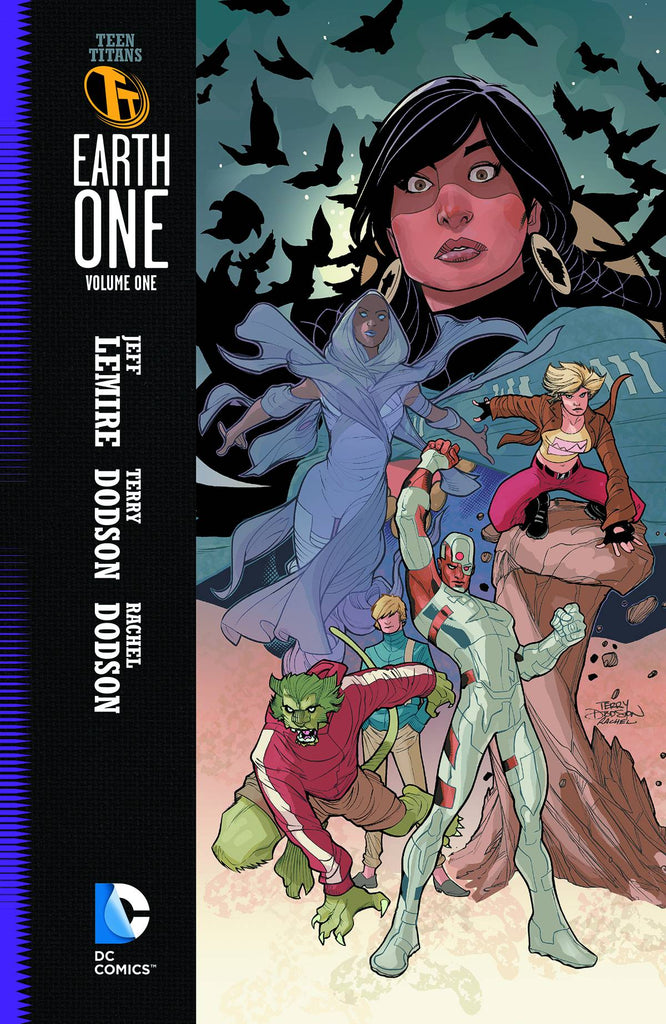 Teen Titans: Earth One HC Vol 1, signed by Jeff Lemire!
