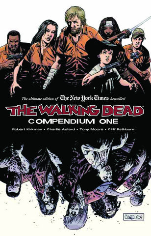 The Walking Dead Compendium SC Vol 1, Signed by Robert Kirkman!