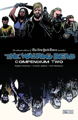 The Walking Dead Compendium SC Vol 2, Signed by Charlie Adlard!
