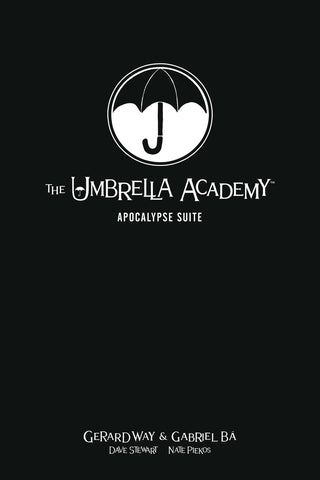 Umbrella Academy Library Edition Vol 1 HC, PERSONALIZED by Gabriel Bá!