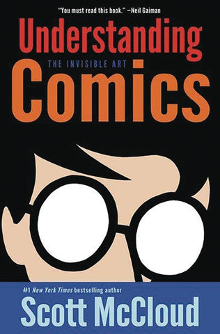 Understanding Comics GN, signed by Scott McCloud!