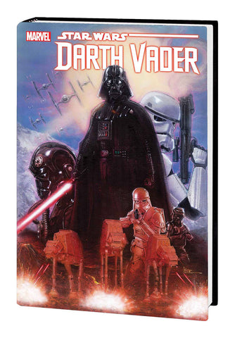 Star Wars: Darth Vader by Gillen & Larroca Omnibus HC, signed by Kieron Gillen!