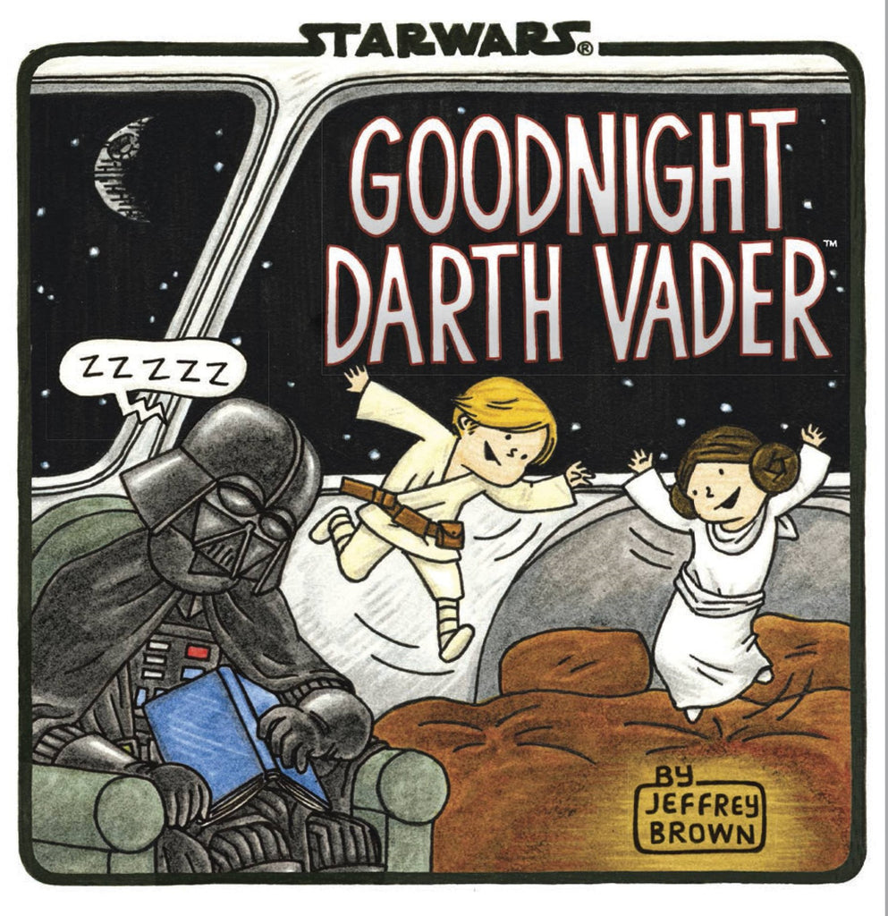 Goodnight Darth Vader HC, PERSONALIZED by Jeffrey Brown!