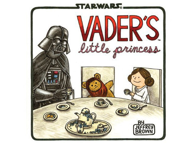 Vader's Little Princess HC, signed by Jeffrey Brown!