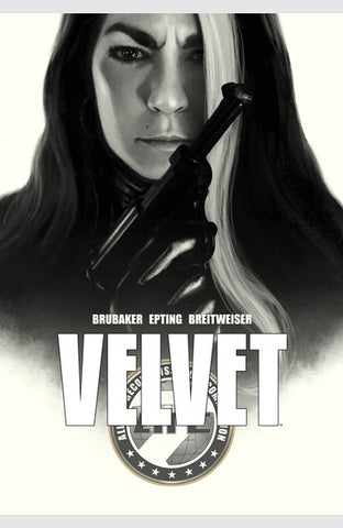 Velvet Vol 1 HC, signed by Ed Brubaker!