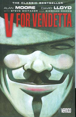 V for Vendetta Absolute Edition HC, Signed by David Lloyd!