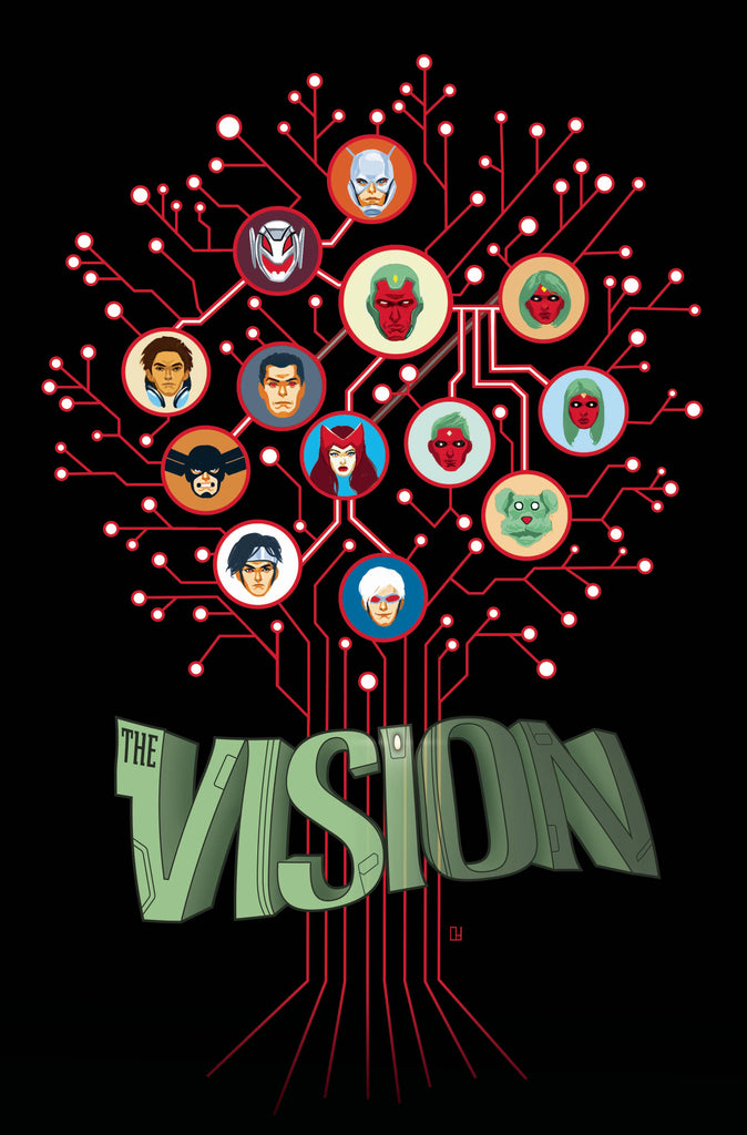 Vision HC, signed by Tom King!