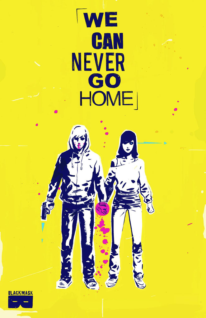 We Can Never Go Home TP, Signed by Matthew Rosenberg!