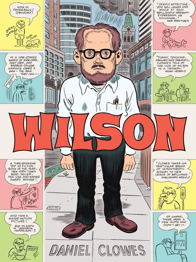 Wilson TP, signed by Daniel Clowes!