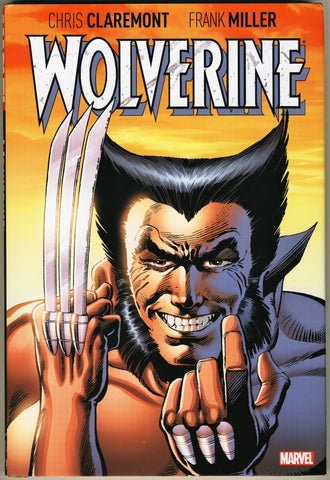 Wolverine by Claremont & Miller HC, signed by Frank Miller AND Chris Claremont!
