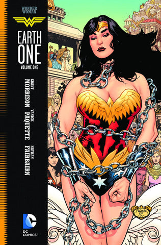Wonder Woman: Earth One HC, signed by Yanick Paquette!