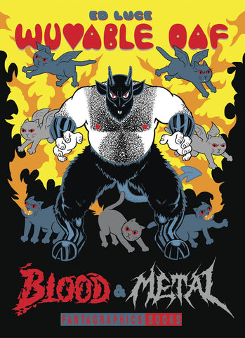 Wuvable Oaf HC: Blood & Metal, signed & sketched by Ed Luce!
