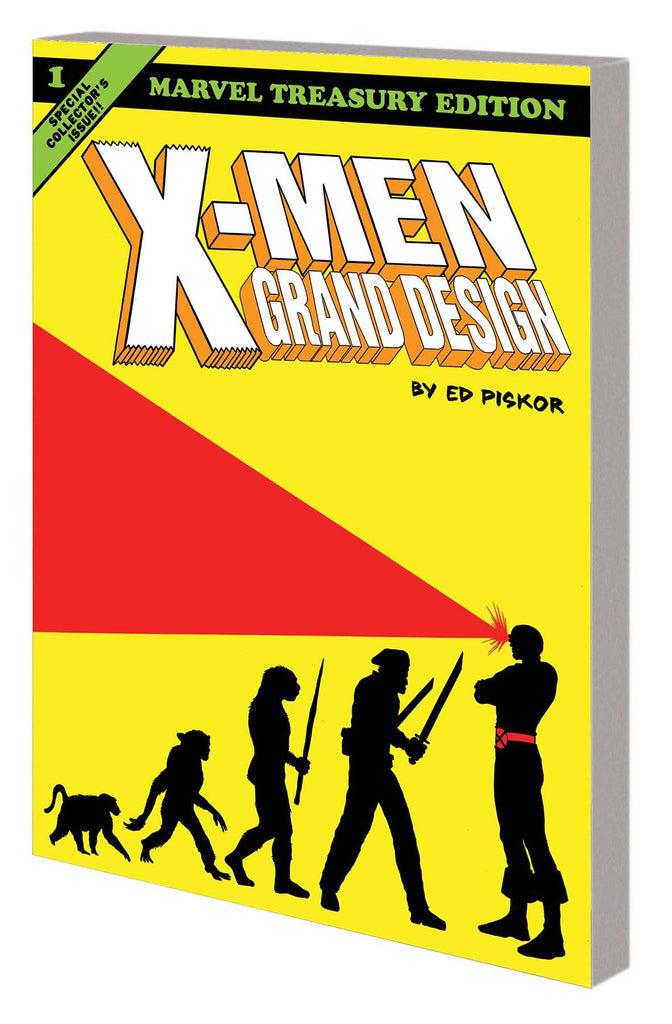 X-Men: Grand Design TP, Signed by Ed Piskor!