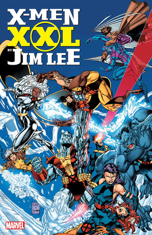 X-Men XXL HC, signed by Jim Lee!