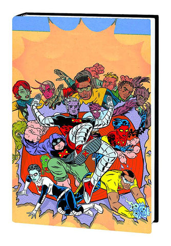 X-Statix Omnibus HC, Signed by Mike Allred!