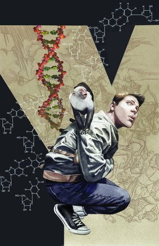 Y: The Last Man Volume One Absolute Edition, signed by Brian K. Vaughan!