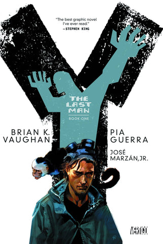 Y: The Last Man TP Book One, Signed by Brian K. Vaughan!