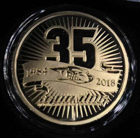35th Anniversary Bronze Coin