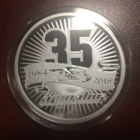 35th Anniversary Silver Coin