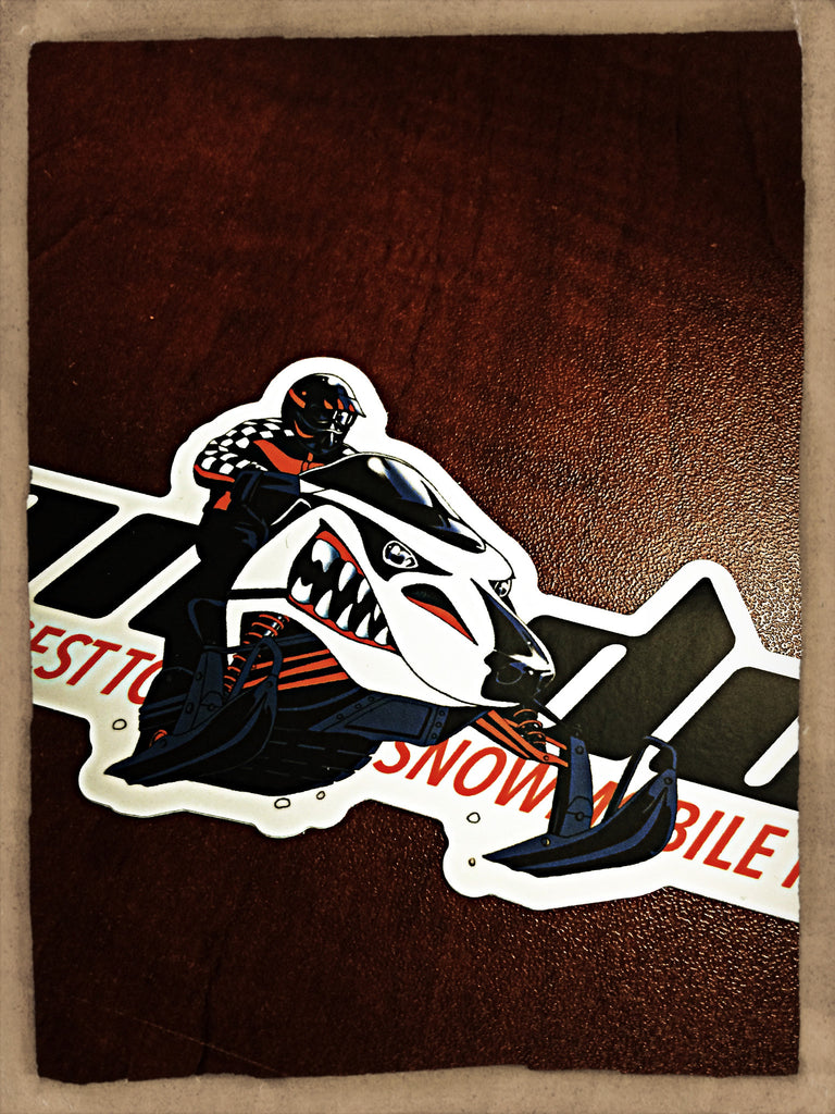 8 Inch Die-cut Sticker