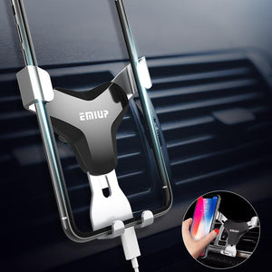 iPhone Air Vent Adjustable Car Mount car holder LuxuryCaseCo.