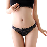 Hot Sale New Women Sexy Lace Panties Breathable Seamless Briefs Hollow Women Underwear-lilogal