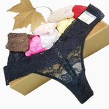 L XL XXL XXXL XXXXXL XXXXXXL big size Sexy cozy Lace Briefs short g thongs G-String Lingerie panties Underwear women 1pcs zx104-lilogal