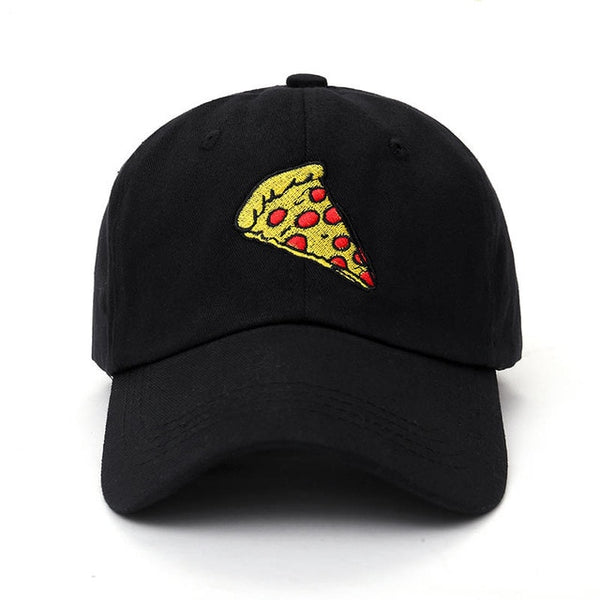 2017 new pizza embroidery Baseball Cap Trucker Hat For Women Men Unisex Adjustable Size dad cap hats-lilogal