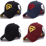 Superman Cap Baseball Trucker New Fashion Superhero DC Comics Golf Adjustable Sports Hats-lilogal