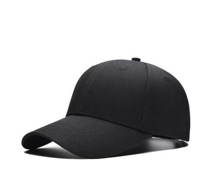 Xuyijun Black Adult Unisex Casual Solid Adjustable Baseball Caps Snapback hats for men baseball cap white men cap dadcap-lilogal