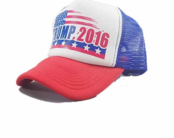 Make America Great Again Hat Donald Trump 2016 Republican Hat Cap MAGA Embroidered America president hat Adjustable Mesh Cap-lilogal