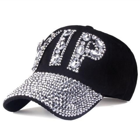 [YARBUU]CAP Wholesale 2017 Hat Rhinestone Print Denim hat Rivet Sun-Shading VIP Baseball Summer Women's Cap Jean Caps hip hop-lilogal