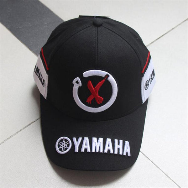 New Black Red F1 racing cap Car Motocycle Racing MOTO GP VR 99 rossi Embroidery hiphop cotton trucker Yamaha Baseball Cap Hat-lilogal