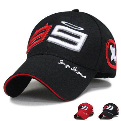 Moto Gp 99 Jorge Lorenzo Hats for Men Racing Cap Cotton Sports Motorcycle Racing Baseball Caps Car Sun Baseball Caps-lilogal