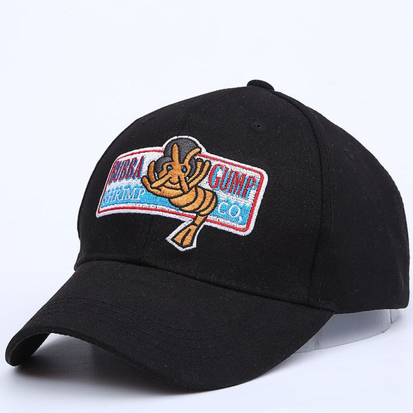 2017 new 1994 BUBBA GUMP SHRIMP CO. Baseball cap men&women Sport Summer Cap Embroidered summer Hat Forrest Gump Costume-lilogal