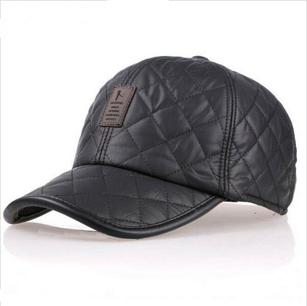 VORON High quality baseball cap men autumn winter Fashion Caps waterproof fabric Hats Thick warm earmuffs baseball cap 4 colors-lilogal