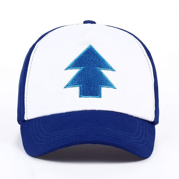 VORON New Cotton tree embroidery Gravity Falls U.S Cartoon Mabel Dipper Pines Cosplay Cool Baseball Caps Adjustable Sport Hat-lilogal