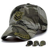 2017 Army Green Camouflage Fashion New Outdoor Camo Baseball Hats Men Casual Top Quality Peaked Baseball Caps 55-59cm 12 Colors-lilogal