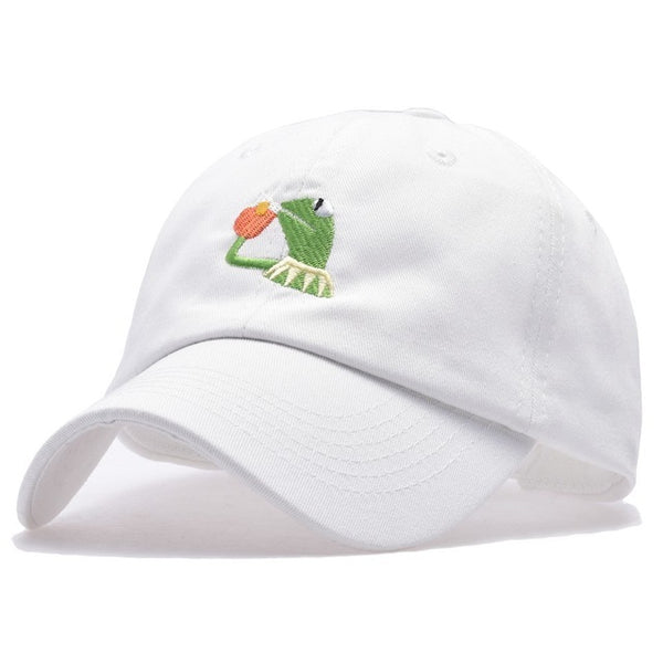 YIFEI Belababy I FEEL LIKE LEBRON Kermit Embroidery Dad Snapback Baseball Cap Meme Frog Visor Hat Gorras Casquette Cotton CAP-lilogal
