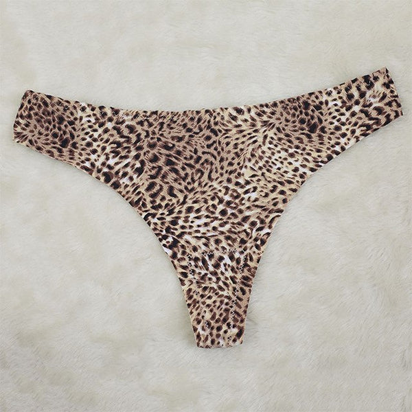 Fashion Hot Sale Plus Size 6Styles Sexy Leopard Low Waist Panties Comfortable Charming Women Underwear Clothing Accessories-lilogal