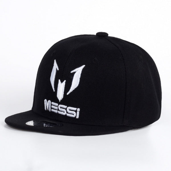 TUNICA 2017 New Fashion Children MESSI embroidery Baseball Cap Hat Boys Girls Kids Snapback Hats Hip Hop Caps Gorras-lilogal