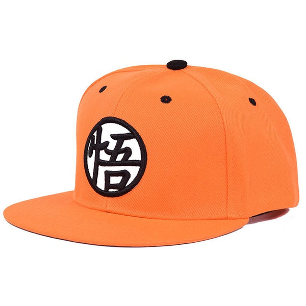 2018 New Dragon Ball Kakarotto Orange Flat Snapback HipHop Caps Hat Unisex Youth Adult Men Son Goku Dancer Snapback Caps-lilogal