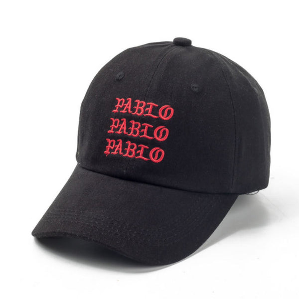 VORON new I Feel Like Pablo Red Hat Dad Baseball Cap Kanye Pablo embroidery dad hat men women Snapback Cap hats-lilogal