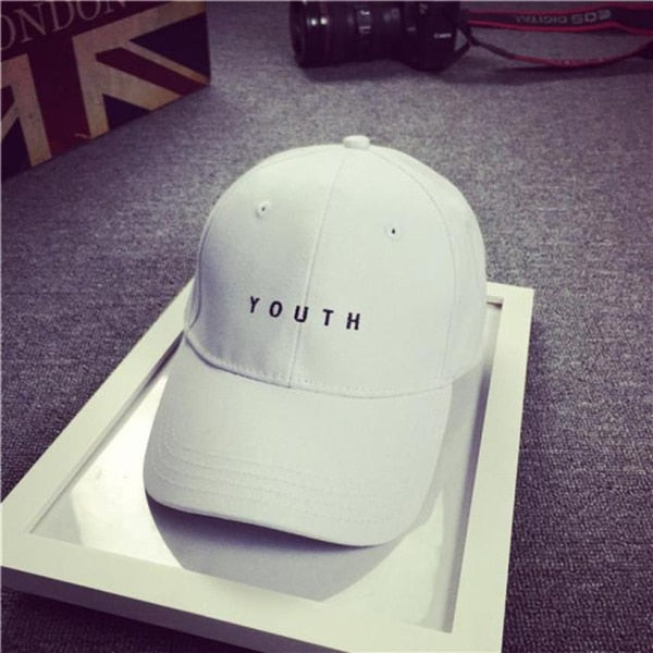 Summer 2017 Brand New Cotton Mens Hat Youth Letter Print Unisex Women Men Hats Baseball Cap Snapback Casual Caps-lilogal