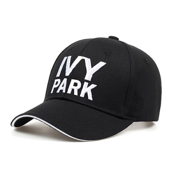 IVY PARK Baseball Cap Beyonce Sporty Style Cotton Hemp ash Hat Unisex Snapback Caps for Women Man Brand Embroidery Gorras-lilogal