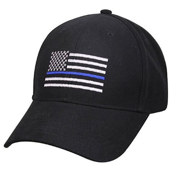 2018 New Fashion Style American Flag Profile Tactical Hats For Police Law Enforcement Back the Embroidered Cap 2 colors-lilogal