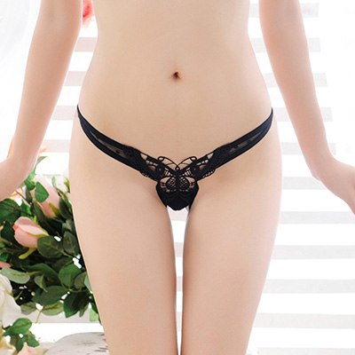 2017 New Butterfly Lace Women Thongs And G Strings Sexy Panties Intimates Breathable Women Lingerie Underwear Embroidery Thongs-lilogal