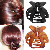 Sale 1PC High Quality Women Octopus Hair Claws Curved Heart Shape Hair Clip Fashion Hair Accessory-lilogal