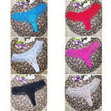 New multi-color Sexy cozy comfortable Lace Briefs thongs Underwear Lingerie for women 1pcs ac11-lilogal
