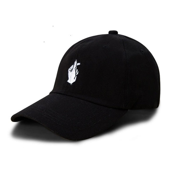 2018 New Arrival Love Gesture Finger Embroider Golf Baseball Cap men women snapback hat Flipper Little Heart Love Sun Truck Hat-lilogal